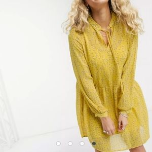 ONLY - Long Sleeve Smock Dress
